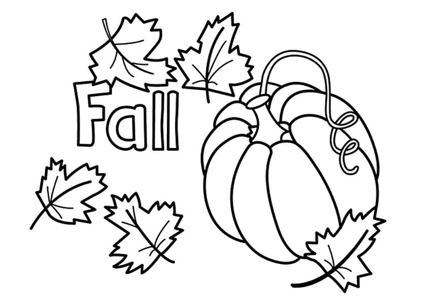 Free Fall Printable Coloring Pages  2282871