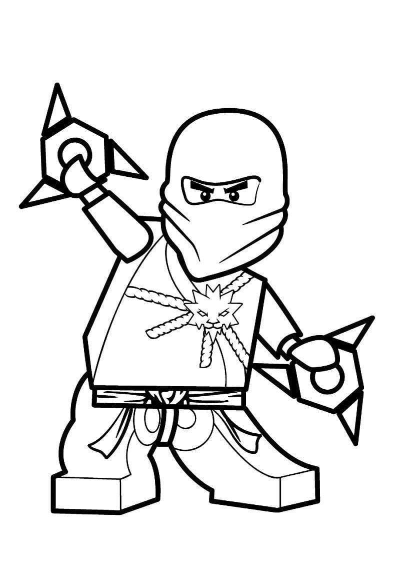 Fancy Lego Ninjago Coloring Pages Coloring Sheets