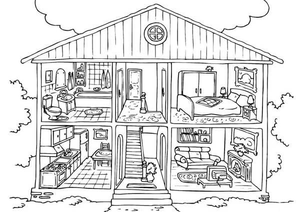 Free Coloring Pages Little House On The Prairie