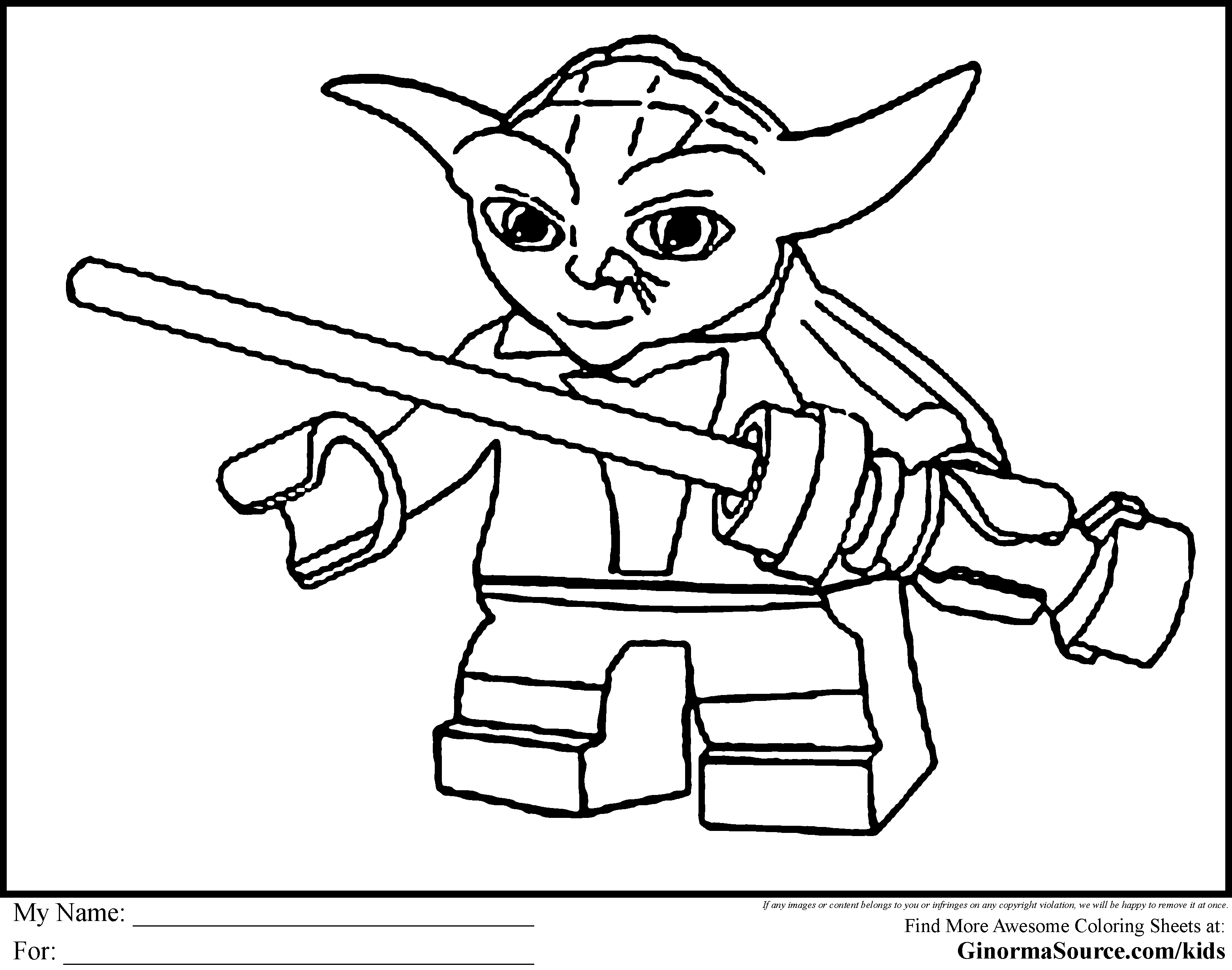 Free Lego Star Wars Coloring Pages Starwars Inside