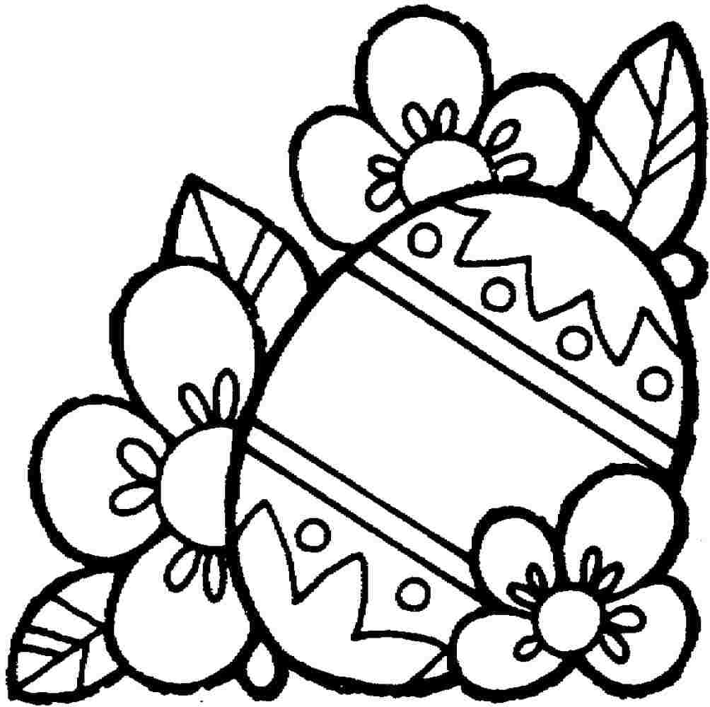 Printable Easter Coloring Pages Depetta 2018 Within Free