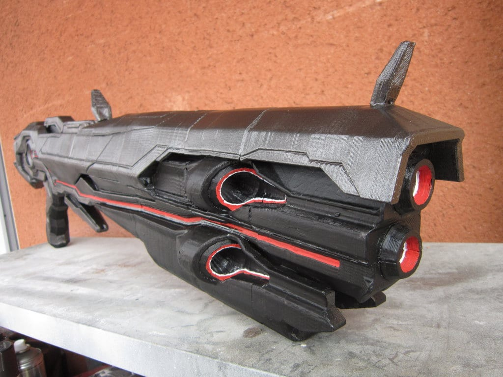 Halo 4 Promethean Scattershot (3d Print) By Vahki6 On Deviantart