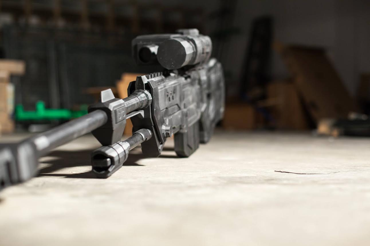 Harmless 3d Printed Guns Are Also The Most Awesome, Being From Halo