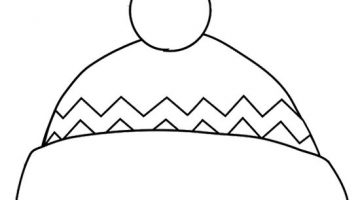 Hat For Colouring