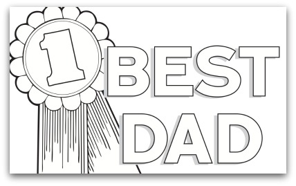 I Love Dad Coloring Pages 3  21054