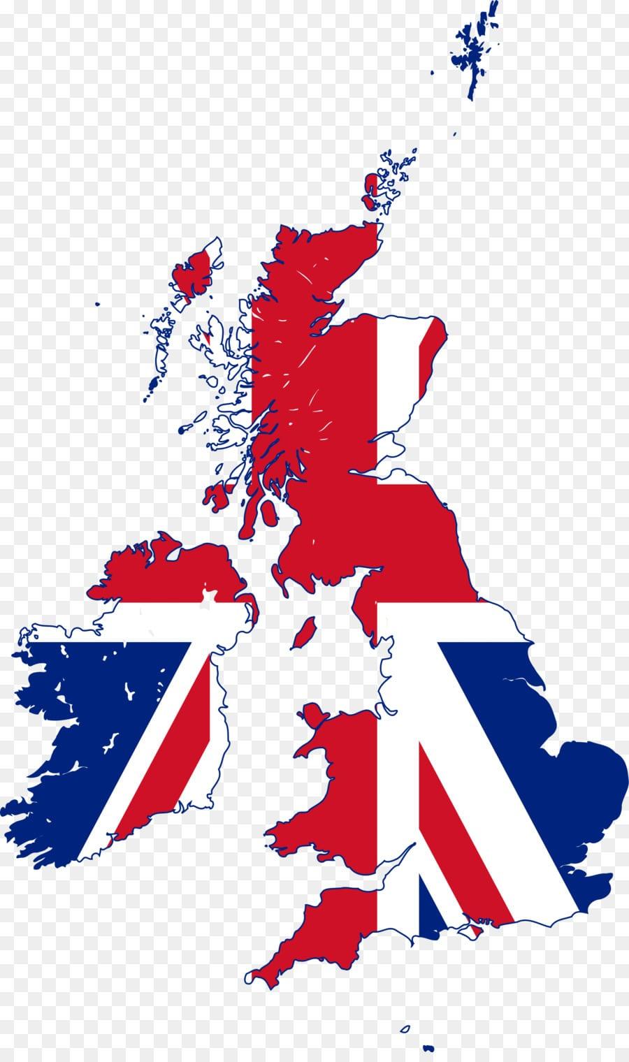 England Map Flag Of The United Kingdom Stock Photography