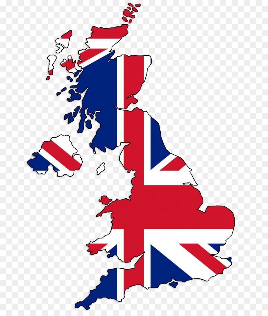 Flag Of The United Kingdom England Map Clip Art