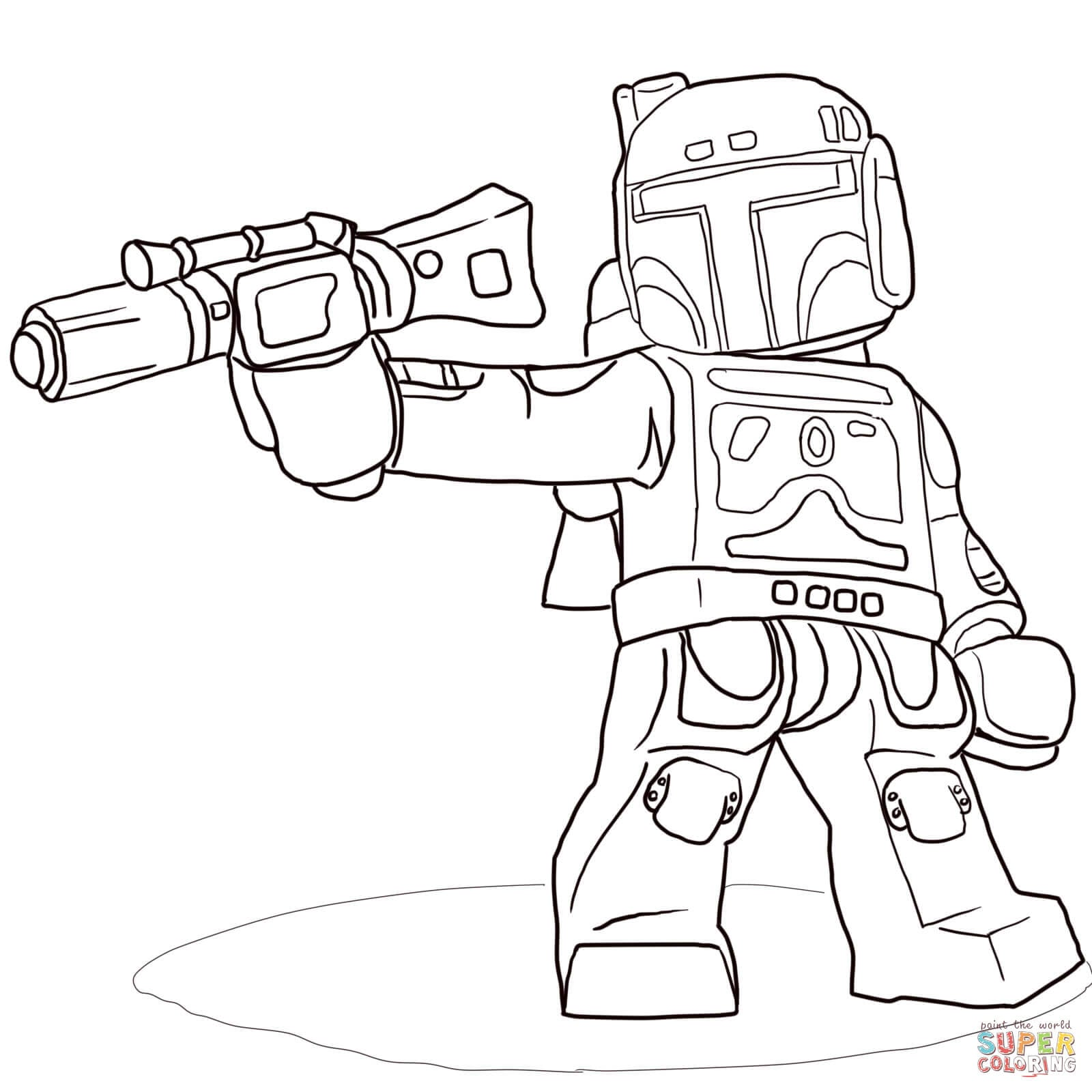 Star Wars Lego Coloring Pages Go Digital With Us F7408120363a For
