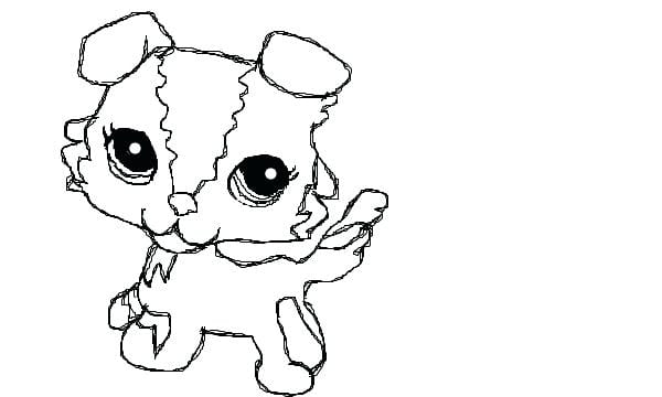 Lps Coloring Pages Printable Littlest Pet Shop Throughout