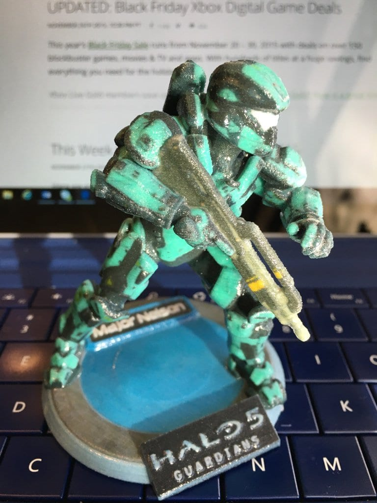 Halo 5 3d Printed Spartans Look Pretty Horrible     Halo