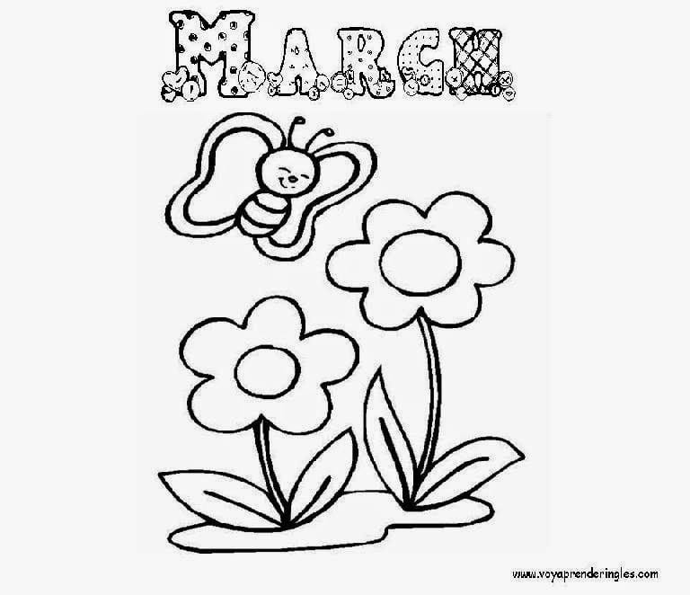 March Coloring Pages Trend 49 For To Print With