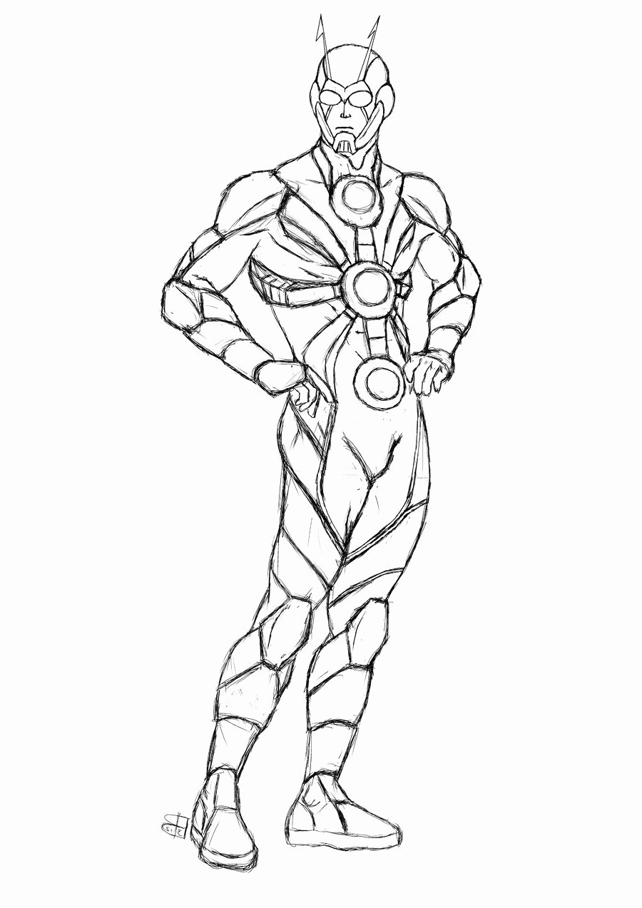Marvel Ant Man Coloring Pages Best Of Faba Me In
