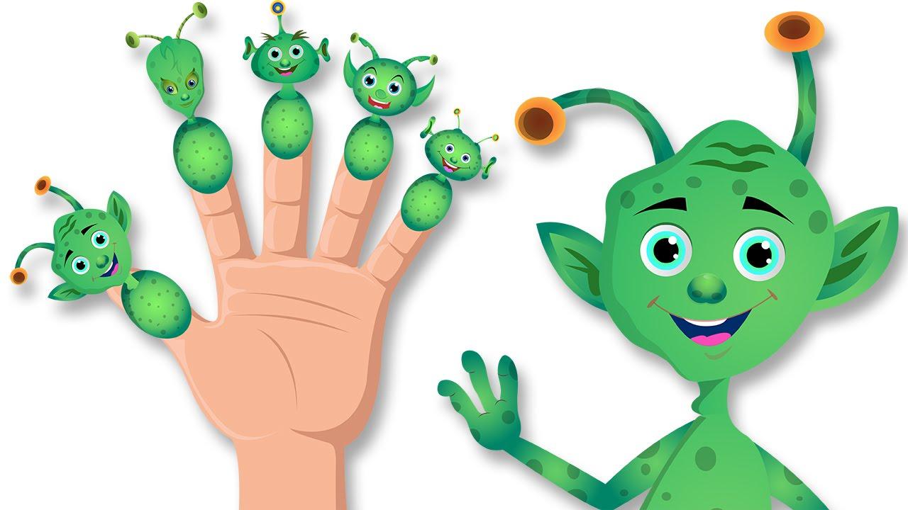 Aliens Finger Family Song