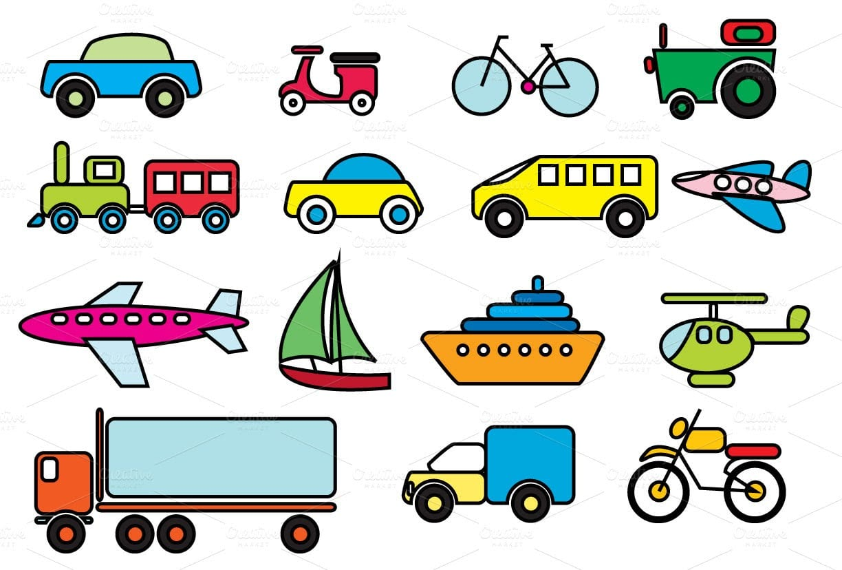 Learning  Street  Vehicles  Names