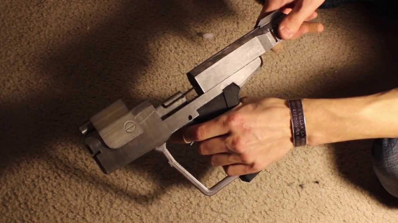 3d Printed Halo 4 Pistol
