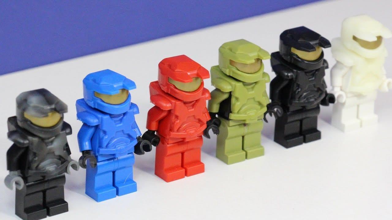 Custom Lego Halo Armor  X39brickcustoms Mark 5 Halo Armor New