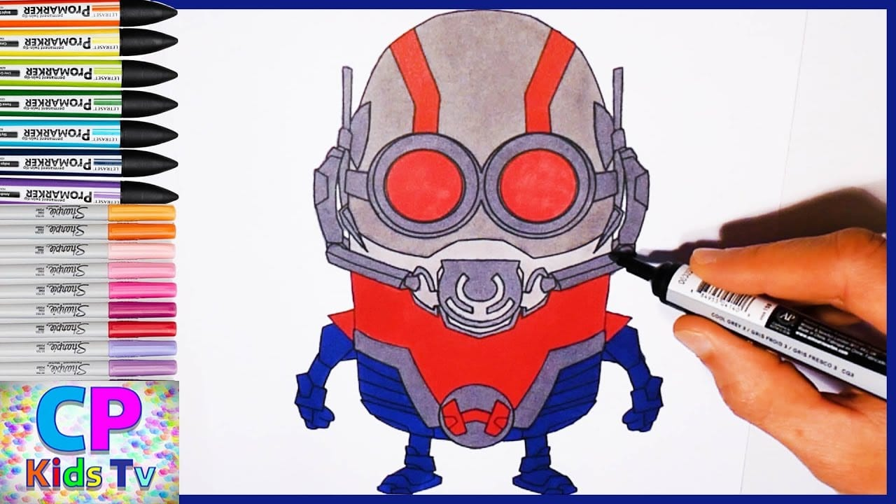 Ant Man Coloring Pages For Kids Part 1 , Ant Man Coloring Pages