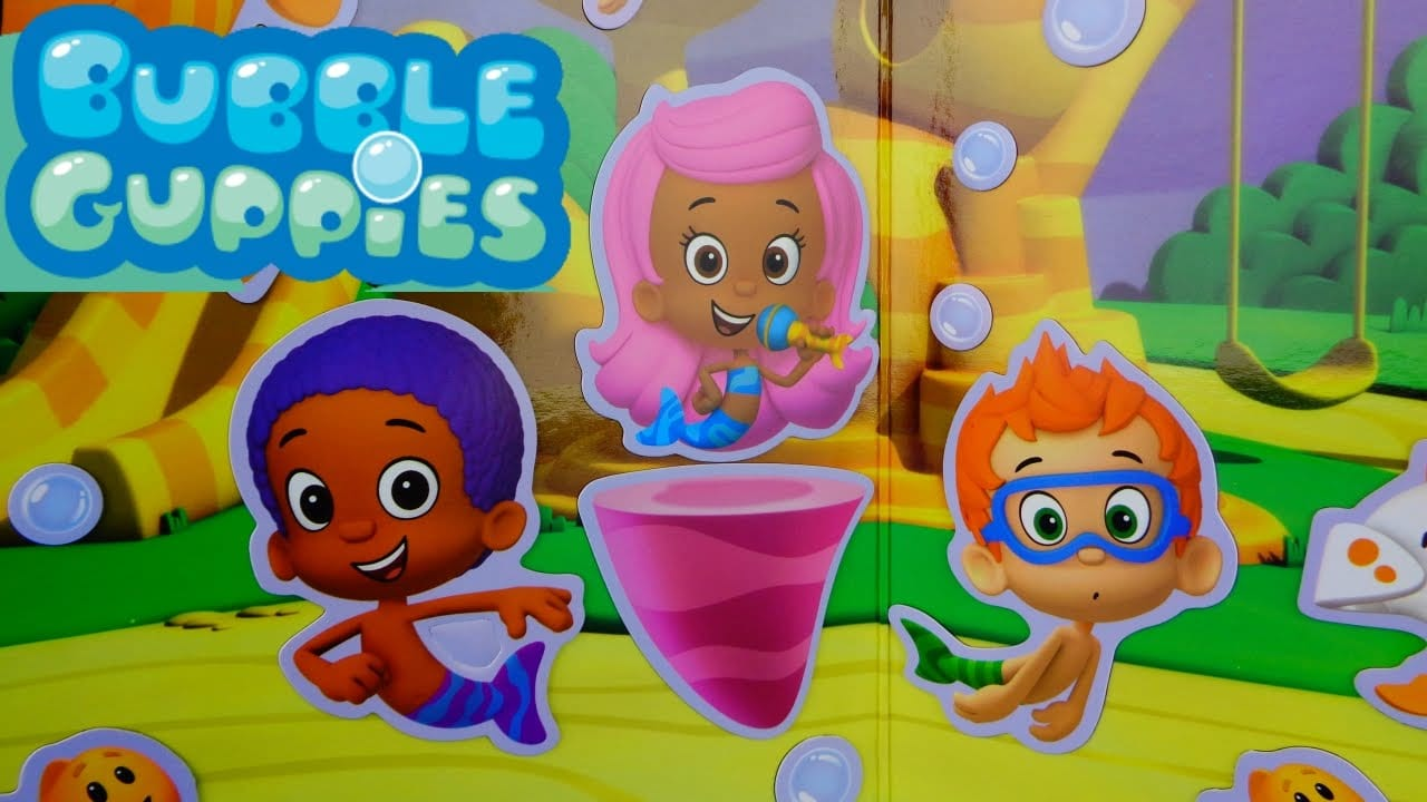 Bubble Guppies Imagnetics Molly Oona Nonny Goby Deema Gil