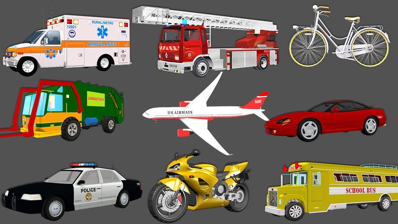 Transportation Vehicles For Children