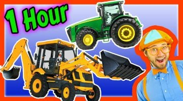 Tractor Pictures For Kids To Color