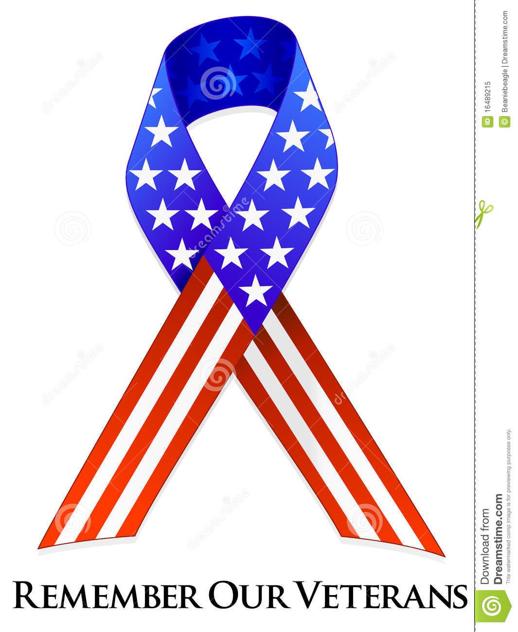 Memorial Day Ribbon Clip Art Free