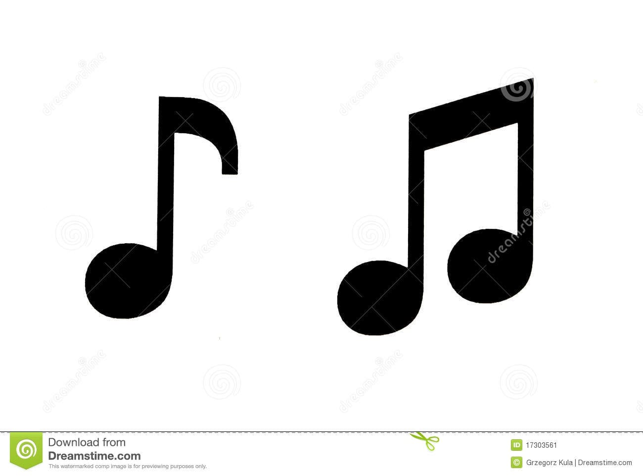 image relating to Printable Music Notes Symbols named Printable Audio Notes Symbols