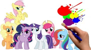 My Little Pony Friendship Is Magic Colouring Pictures To Print
