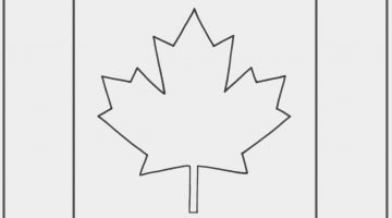 Printable Canadian Flag