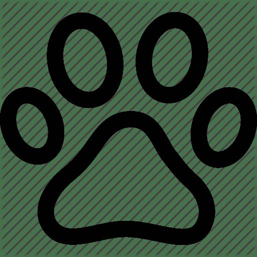 Free Paw Print Icon 365086
