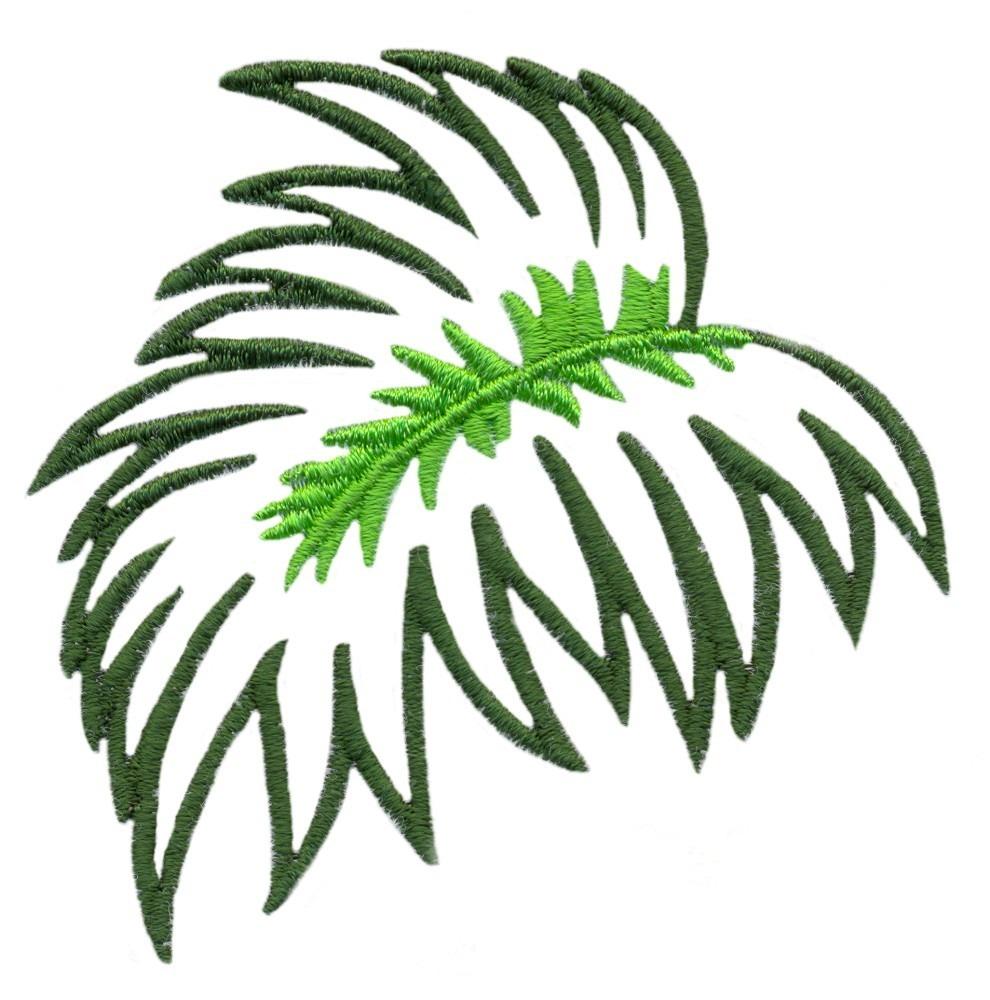 Free Jungle Leaf Template, Download Free Clip Art, Free Clip Art