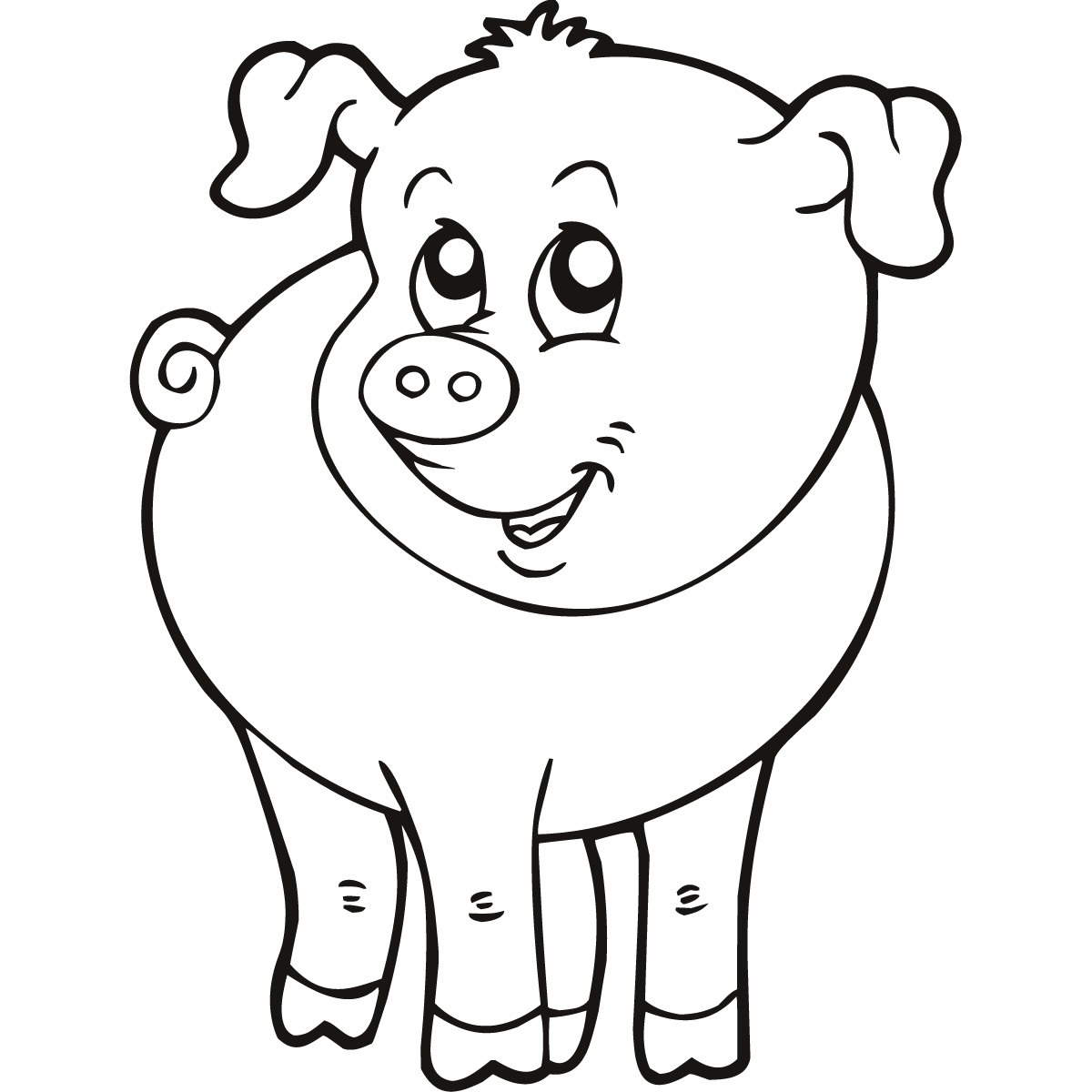 Free Farm Animal Drawings, Download Free Clip Art, Free Clip Art