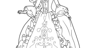 Disney Princess Printable Coloring Book