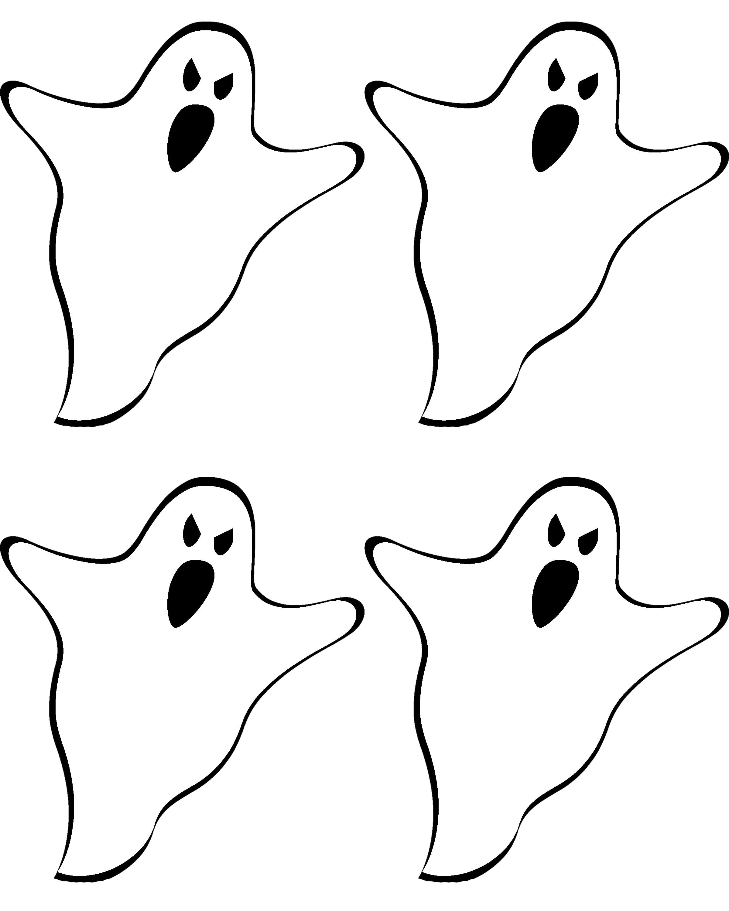 Best Photos Of Free Printable Ghost