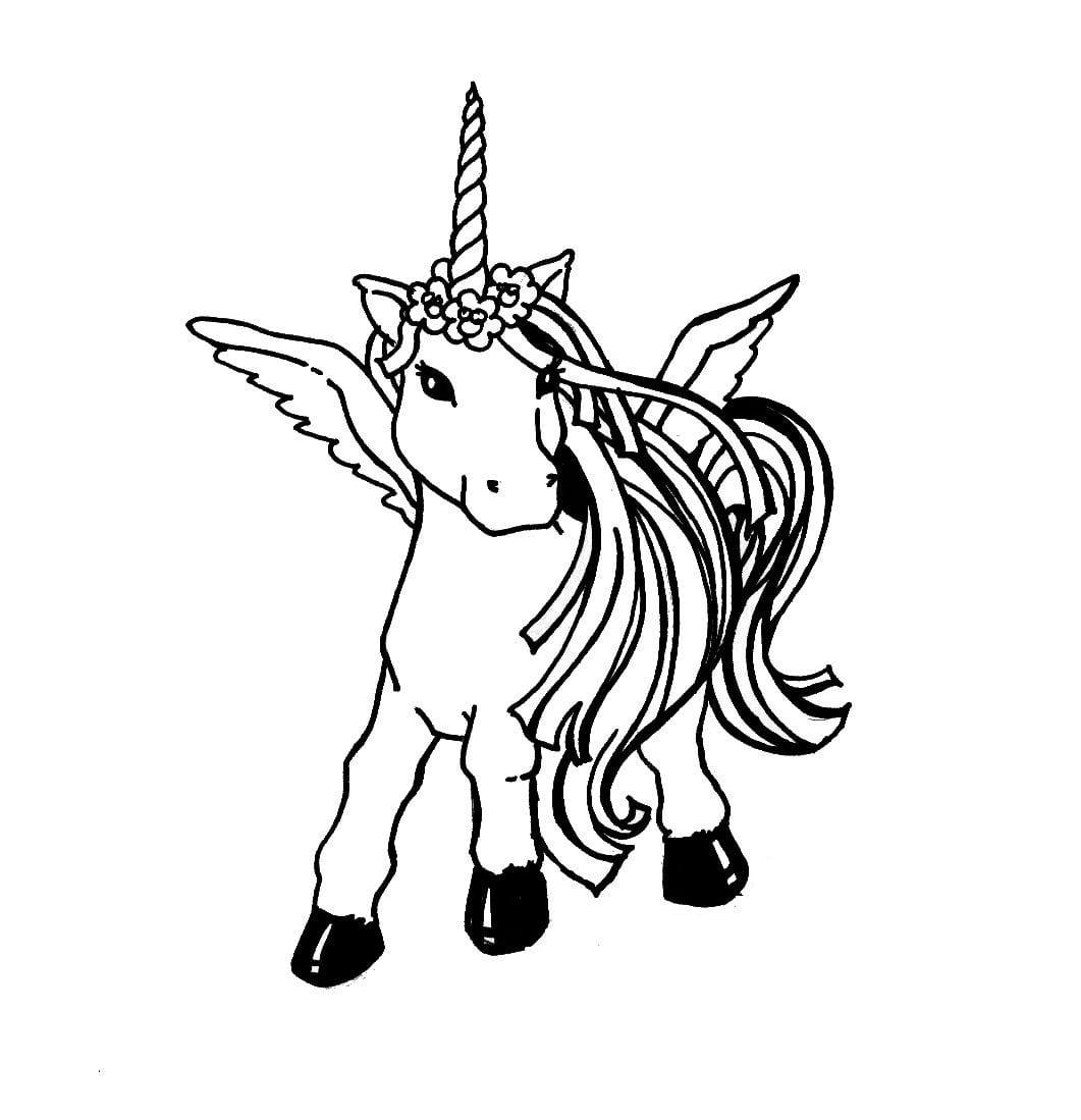 Reward Pictures Of Unicorns To Color Free Printable Unicorn