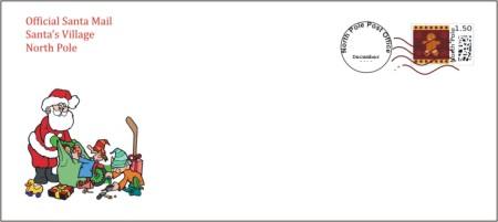 Letter From Santa Envelope Template