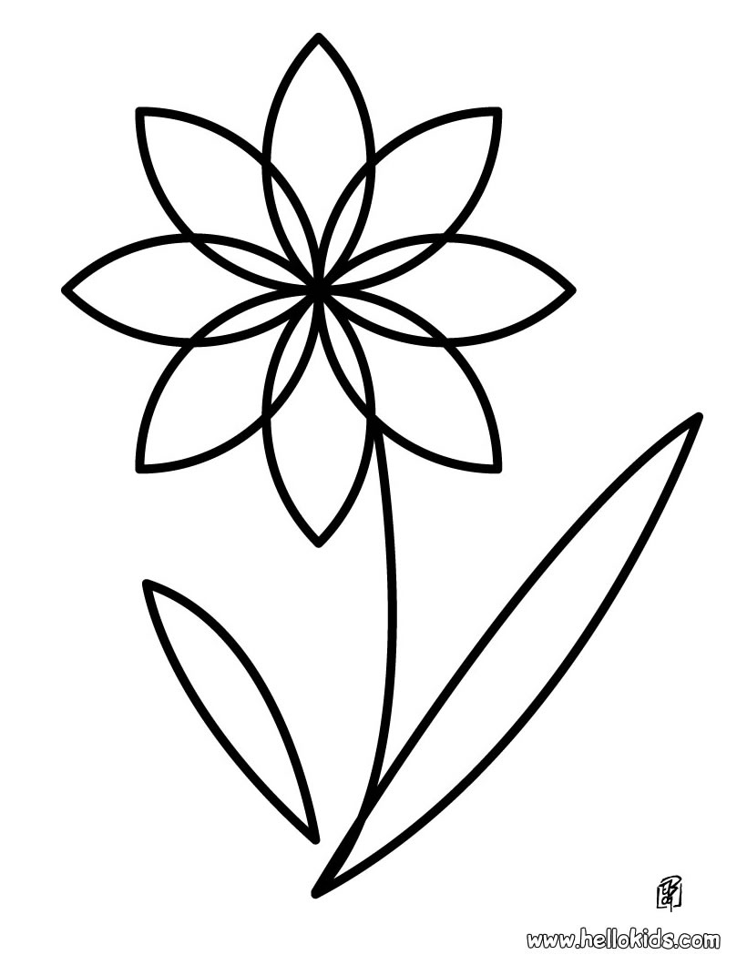 Free Printable Sunflower Coloring Pages For Kids  Girls Scouts