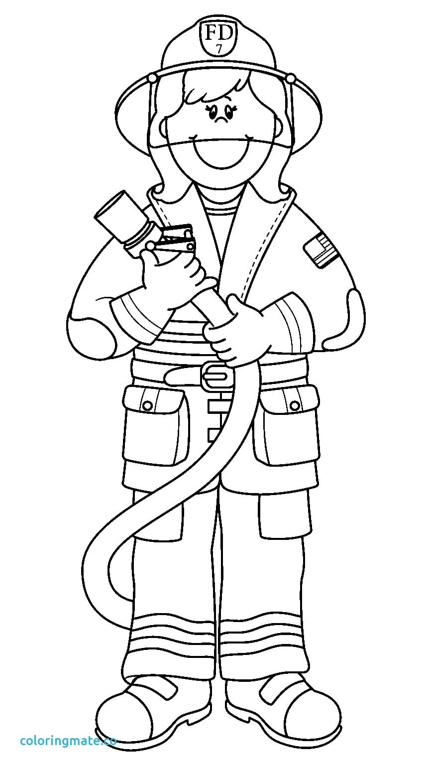 Simple Community Workers Coloring Pages Rare Helper Beautiful