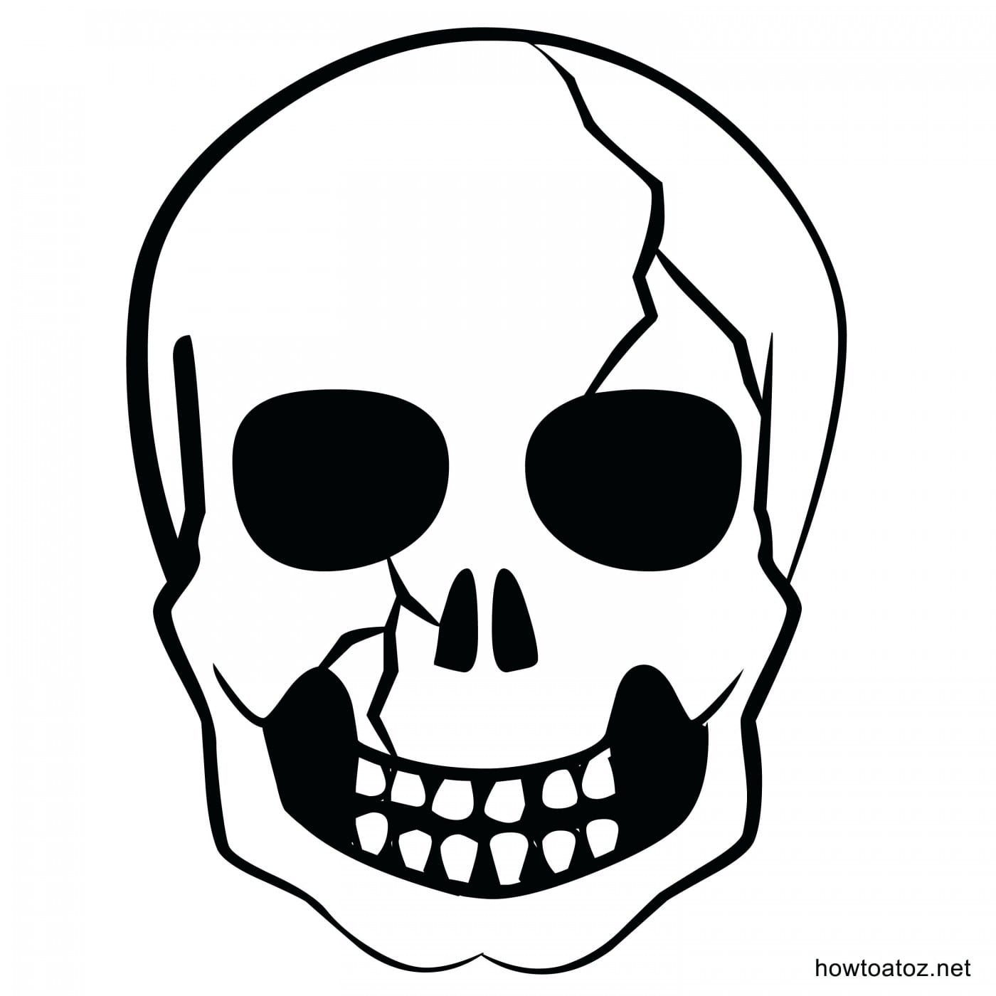 Skull Template Printable Photographic Gallery With Skull Template