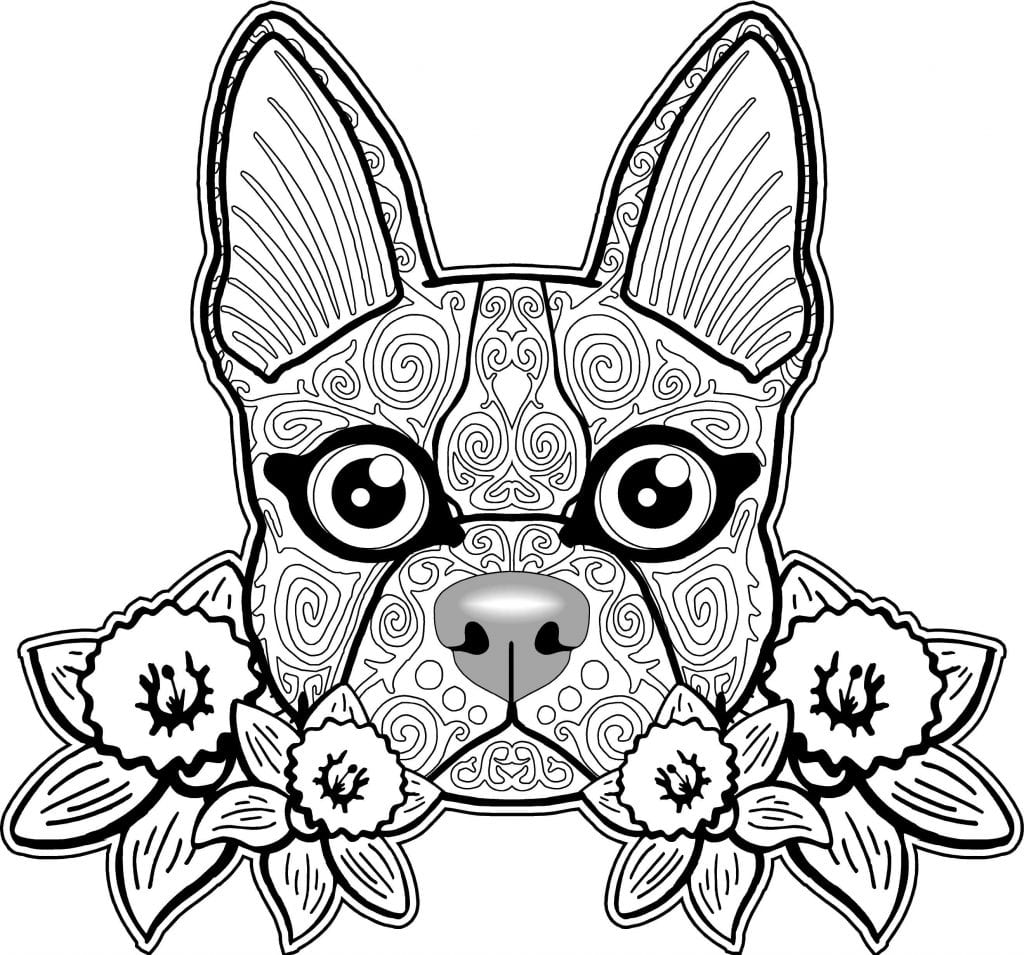 Free Coloring Pages Of Dogs