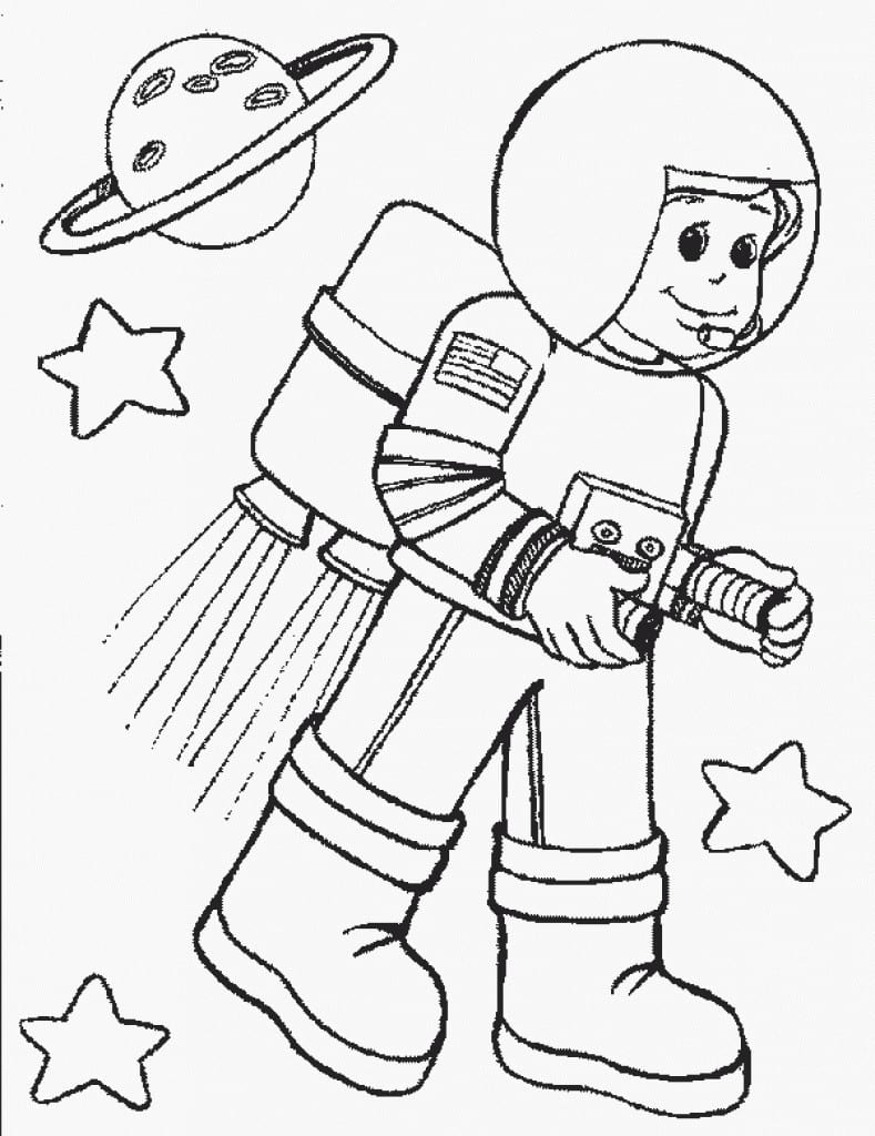 Community Helper Coloring Pages