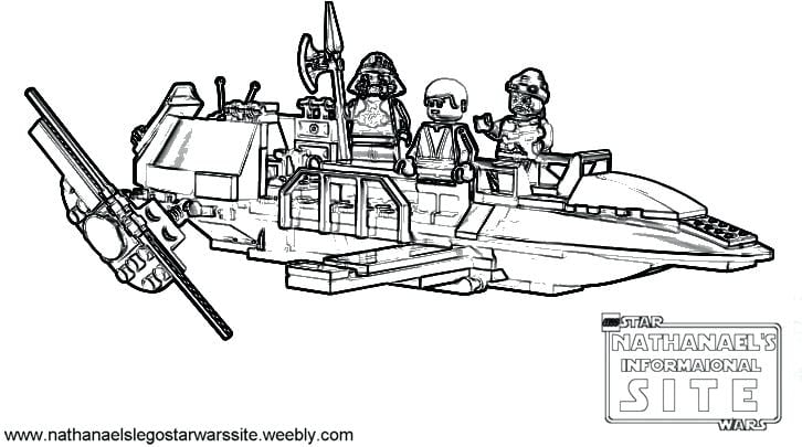 Star Wars Legos Coloring Pages How To Draw Lego Color