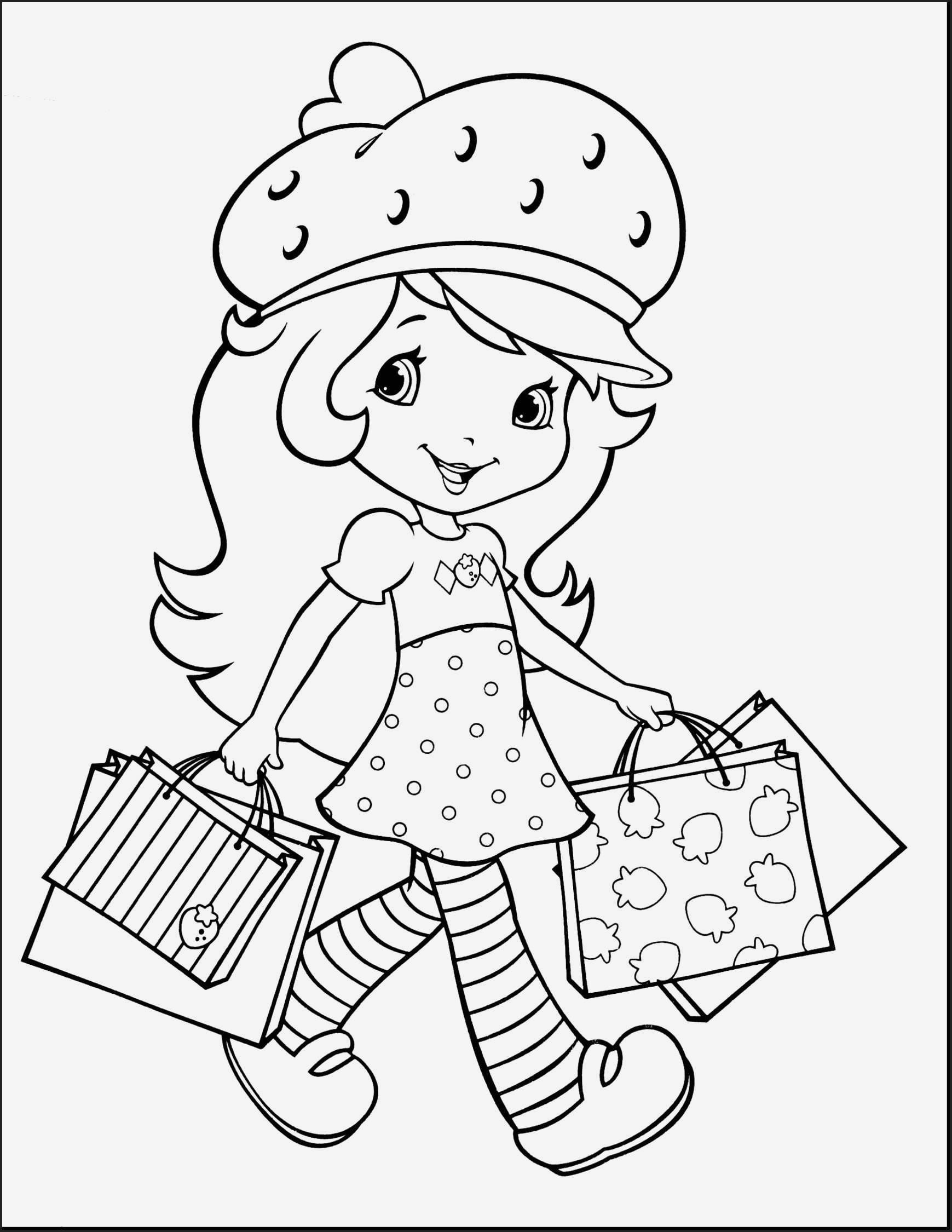 Strawberry Shortcake Coloring Pages Download And Print For Free