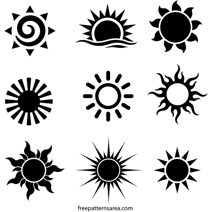 Printable Pictures Of The Sun