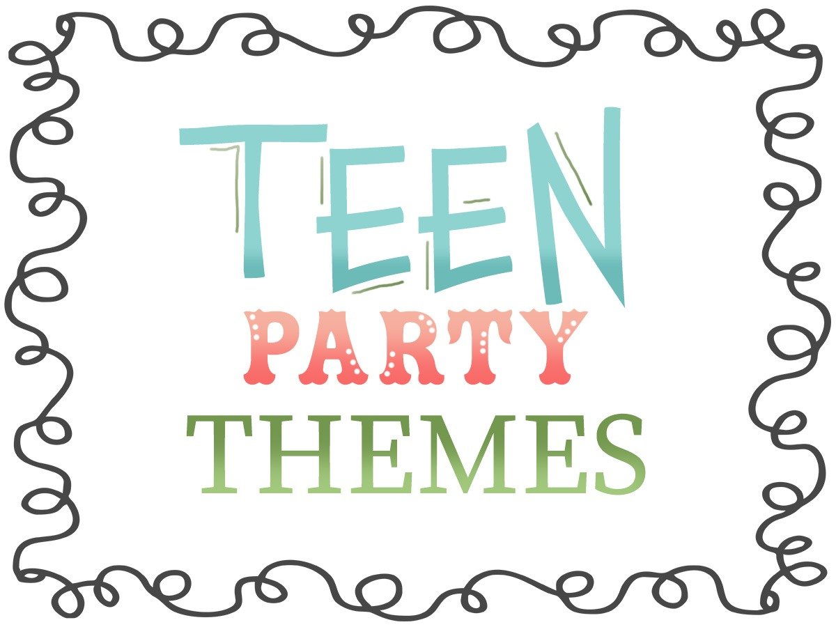 Teen Party Games And Printables