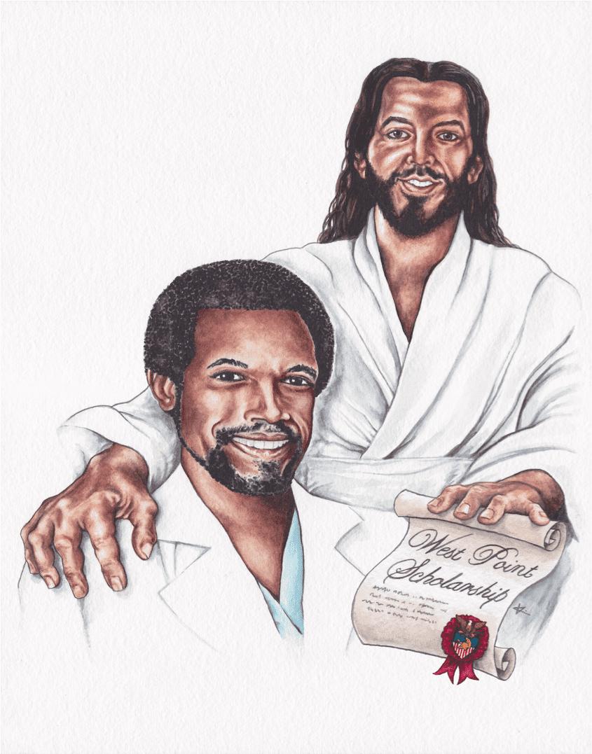 Ben Carson   Jesus Christ Print Now Available
