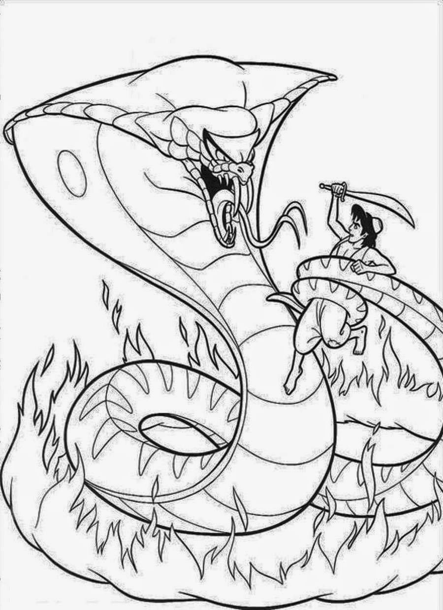 Wanted Pictures Of Snakes To Color Snake Coloring Page  6130