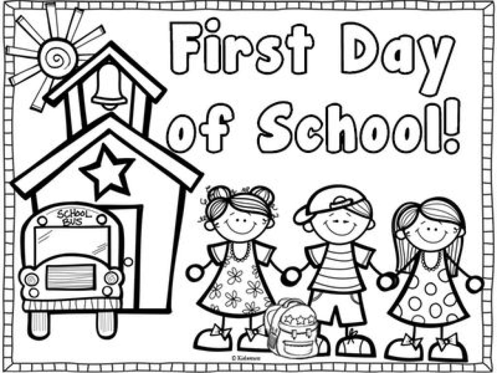 Welcome Back To School Coloring Pages Coloring Book