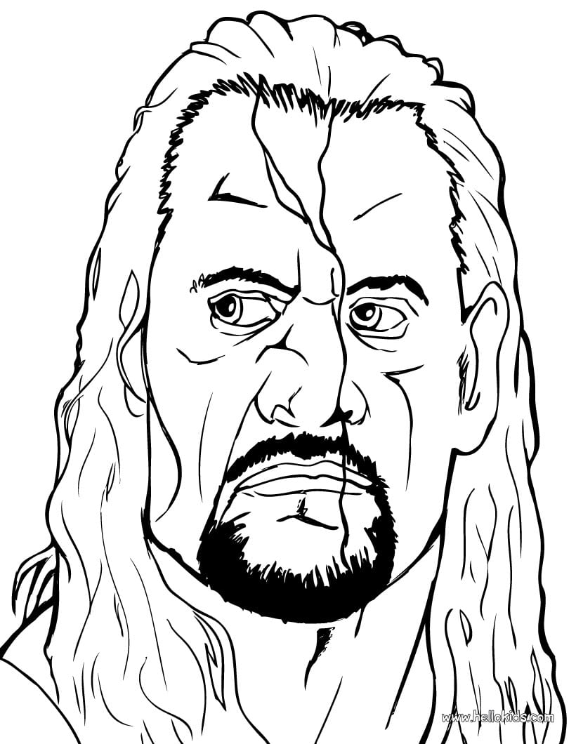 Jeff Hardy, Wrestling Coloring Pages