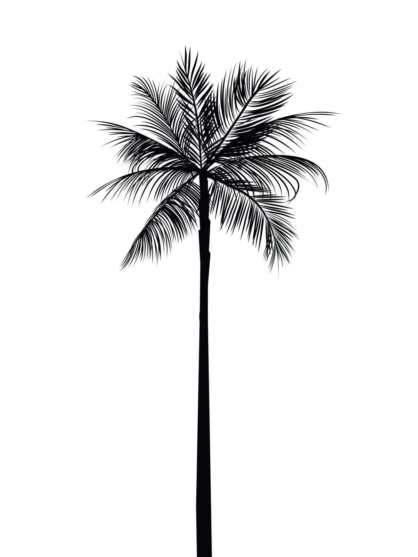 Palm Tree Print, Palm Leaves Print, Palm Tree Art, Palm Tree Wall