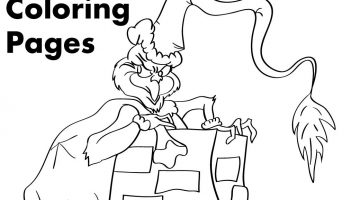 The Grinch Christmas Coloring Pages